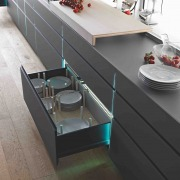full extension jumbo high end kitchen drawer